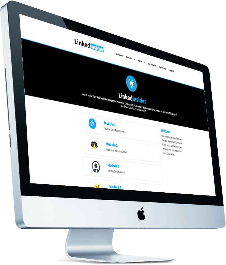 Linkedinside Imac - LinkedIn Training Courses Australia | Corporate LinkedIn Training | LinkedIn for Sales Teams