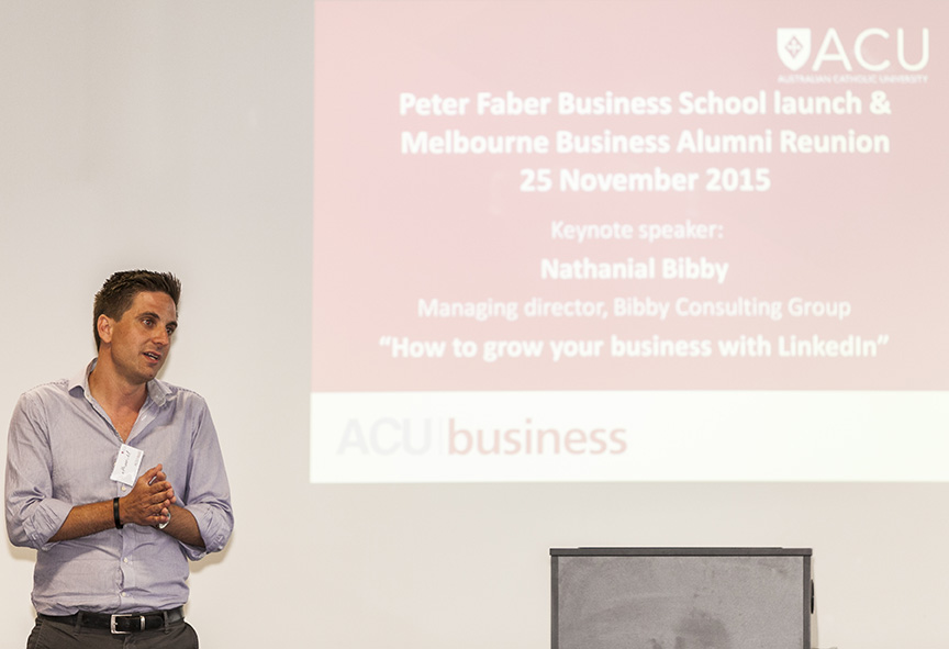 Social Media Keynote Speaker Melbourne - LinkedIn Speaker | Digital Marketing Speaker | Social Media Speaker | Nathanial Bibby